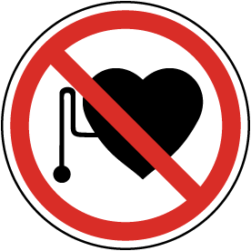 No Pacemakers Label