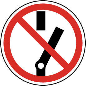 Do Not Alter State of Switch Label