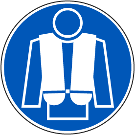Wear Life Jacket Label