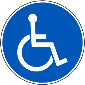 International Symbol of Accessibility Label