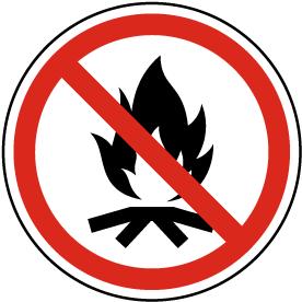 No Campfire Label