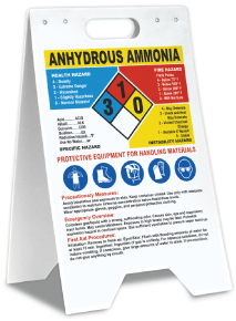 Anhydrous Ammonia Hazardous Material Floor Stand