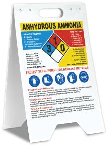 Anhydrous Ammonia Hazardous Material Floor Stand