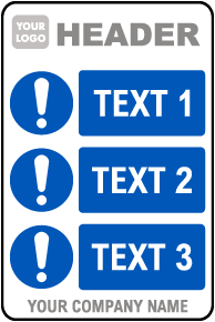 PPE Sign — 3 Images