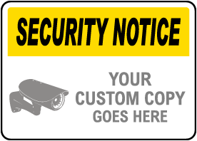 Custom Security Policy Sign