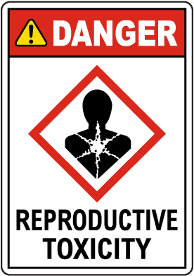 Danger Reproductive Toxicity GHS Sign