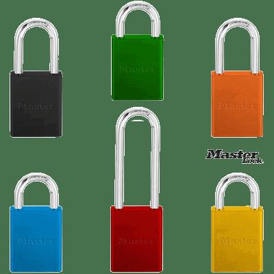 Keyed Different Aluminum Padlock