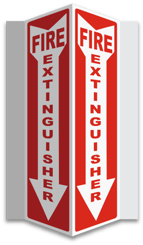 Buy Fire Extinguisher Symbol Signs In Stock And Ready To Ship