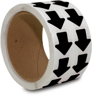 Black Arrow Floor Marking Tape