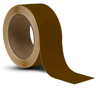 Brown Vinyl Floor Marking Tape