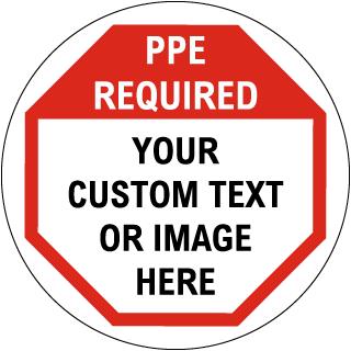 Custom Safety Floor Sign
