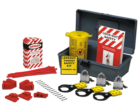 Portable Electrical Lockout Kit