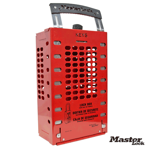 Group Lockout Boxes Portable Or Wall Mounted Fast Shipping