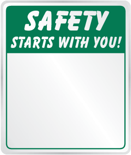 Safety Starts With You Mirror
