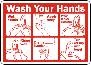 Hand Washing Signs Wash Your Hands Signs Employee Wash
