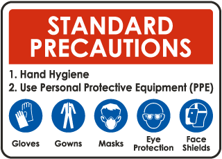 Standard Precautions Sign