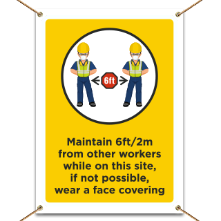 Job Site Dress Code Max PPE Required Banner