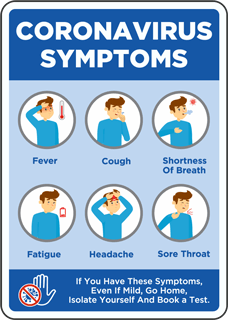 Corona Symptoms Sign