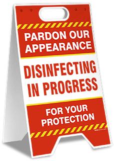 Pardon Our Appearance A-Frame Sign