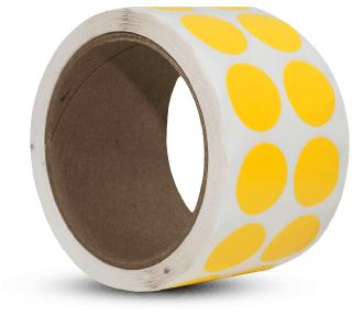 Yellow Floor Marking Dots