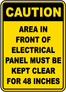 Electrical Panel Labels – In Stock  Ships Fast – SafetySign com