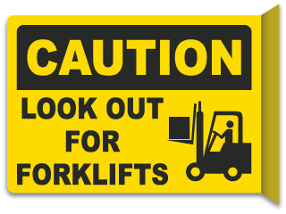 Forklift Warning Signs | Tons of OSHA/ANSI Compliant Signs