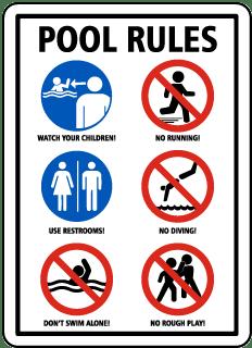 Long Lasting Pennsylvania Pool Signs