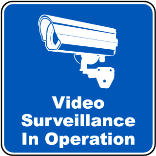 Video Surveillance In Operation Sign