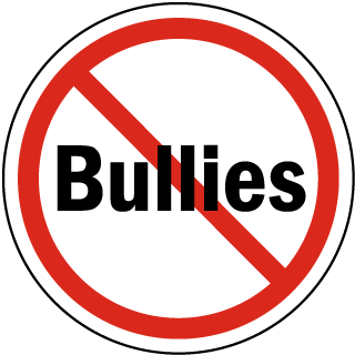 No Bullies Label