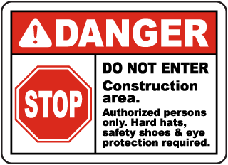 Construction Site Signs – Construction Warning Signs Made in USA