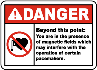 In The Presence of Magnetic Fields Sign