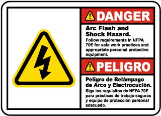 Bilingual Arc Flash Follow NFPA 70E