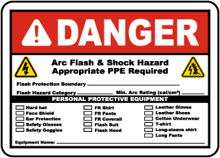 arc flash labels arc flash warning labels. Black Bedroom Furniture Sets. Home Design Ideas