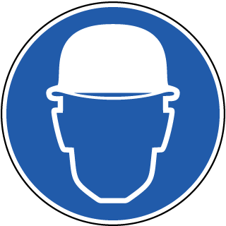Wear Hard Hat Label