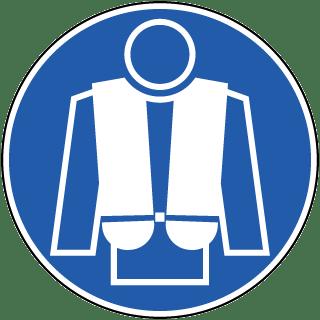 Wear Life Jacket Label