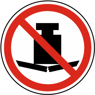 No Heavy Load Label
