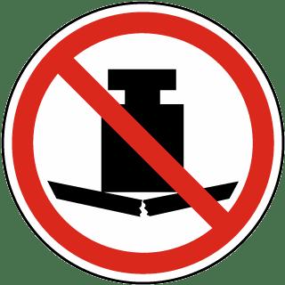 No Heavy Load Label
