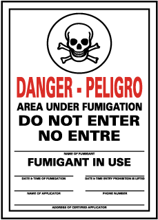 Pesticide Signs Epa Compliant Made In The Usa