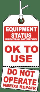 Equipment Status Tag