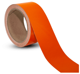 Orange Reflective Floor Marking Tape