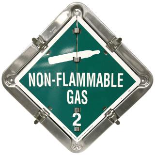 Solid Frame 8 Placard Flip Set