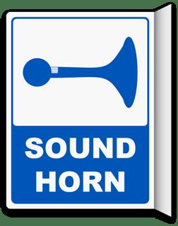 2-Way Sound Horn Sign