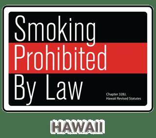Hawaii No Smoking Sign