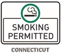 Connecticut No Smoking Sign
