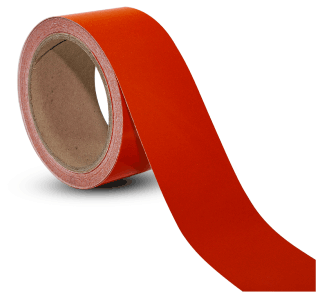 Red Reflective Floor Marking Tape
