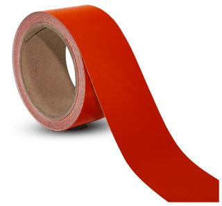 Red Reflective Floor Marking Tape