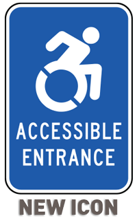 Accessible Entrance Sign