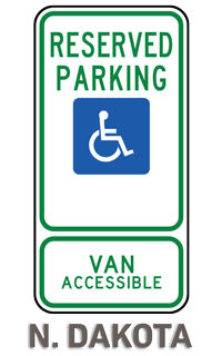 North Dakota Accessible Parking