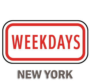 Weekdays Sign