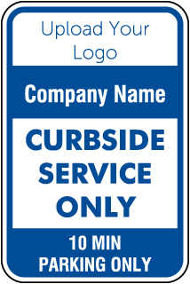 Blank Custom Parking Signs - 7 Templates